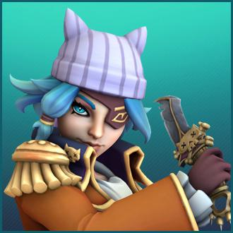 Thumbnail image for Paladins - Maeve Pirate