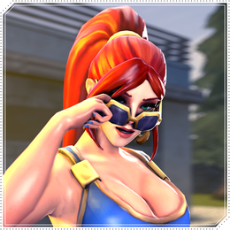 Cassie Sun Kissed [Paladins Champions Of The Realm]