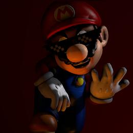 High Poly Mario