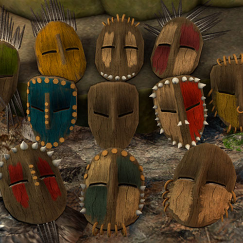 Thumbnail image for Customizable Tribal/Cult Mask
