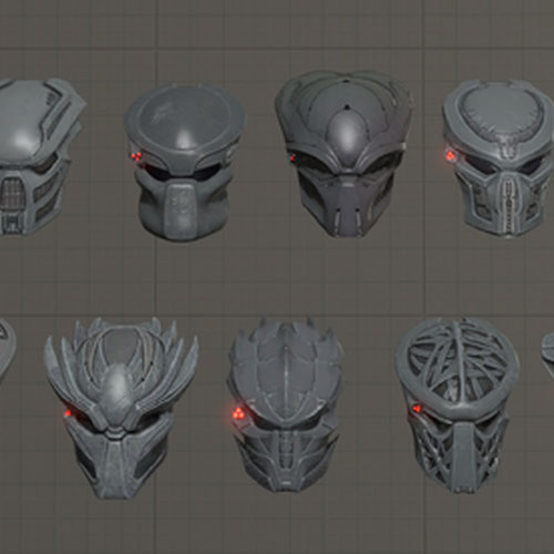 Thumbnail image for Predator Weapons & Masks