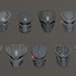 Predator Weapons & Masks