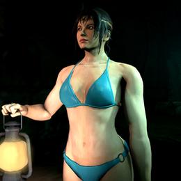 Michelle Chang bikini (Tekken Tag Tournament 2)