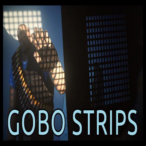 Thumbnail image for Customizable gobo strips model