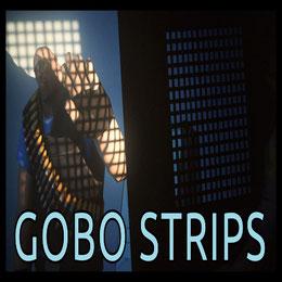 Customizable gobo strips model