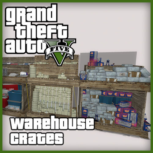 Thumbnail image for Warehouse crates [GTA V Online]