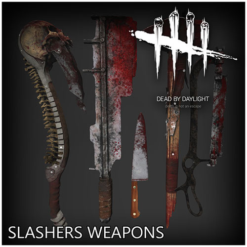 Thumbnail image for Slashers weapons [Dead By Daylight]