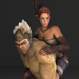Thumbnail image for Trip and Monkey (Enslaved: Odyssey to the West)