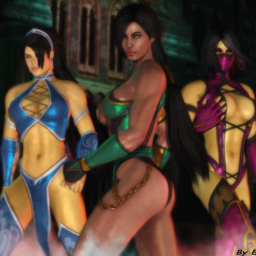 Thumbnail image for MK9 Jade, Kitana, Mileena Voice Files