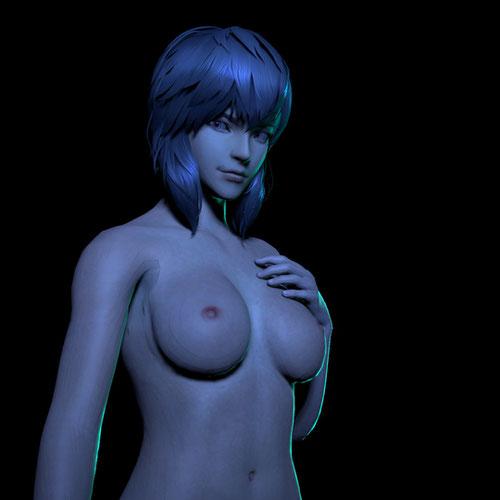 Thumbnail image for Motoko Kusanagi *NUDE* (Ghost in the Shell)