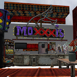 Borderlands 2 - Moxxis props pack