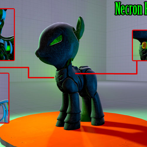 Thumbnail image for Necron Pony