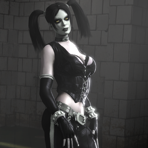 "Thumbnail image for Harley Quinn - ""Blackest Night"" Alternate Skin"