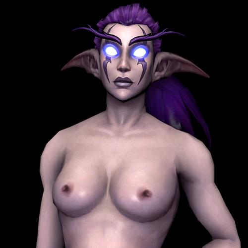 Thumbnail image for World of Warcraft - Female Night Elf