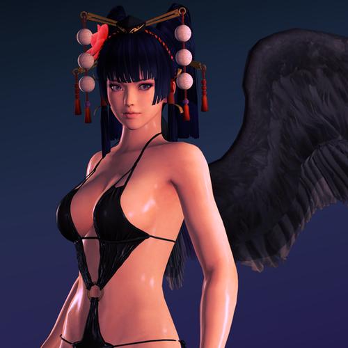 Thumbnail image for DoA5 - Nyotengu - Bikini outfit