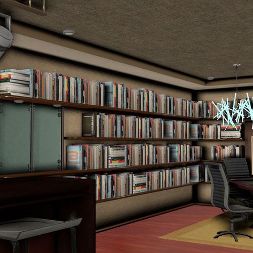 Thumbnail image for Shepard's Apartment (Citadel DLC) - 'Lounge / Office'