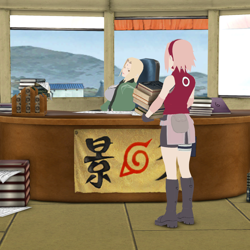 Thumbnail image for Naruto: Hokage Office