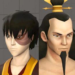 Zuko & Ozai (Avatar: the last Airbender)