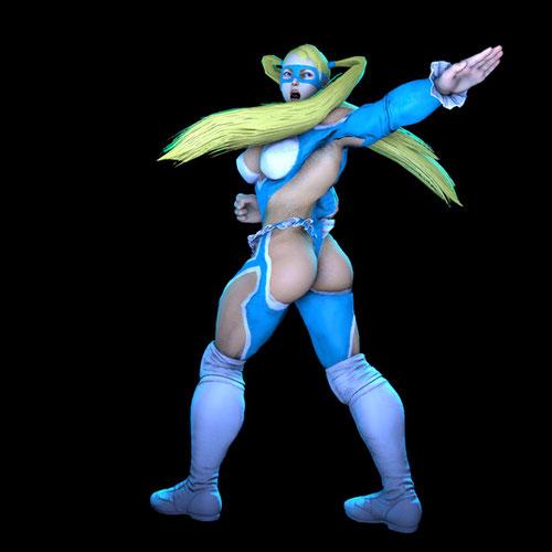 Thumbnail image for Rainbow Mika (Street Fighter V) *2017*