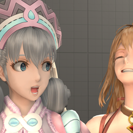 Fiora and Melia from Xenoblade Definitive Edition