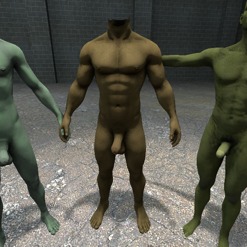 Thumbnail image for Rigs + 'Orcish' Textures [for Fit Male Talent & Ultimate Male Body Redux]