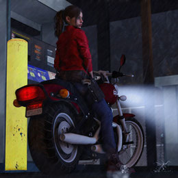 Motorcycle - Claire Redfield (RE2R)