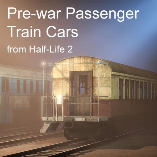 Thumbnail image for Pre-war Passenger Train Cars