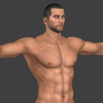 Thumbnail image for Nude Male Shepard