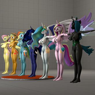 Thumbnail image for My Little Pony - Anthro Pony Skins for Soria