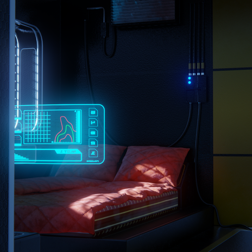 Thumbnail image for Mid level sci-fi  room