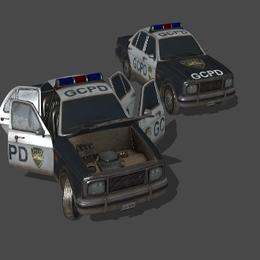 GCPD car - Batman: Arkham Knight