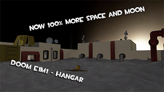 Thumbnail image for Doom - E1M1 (Hangar) - TF2 Style