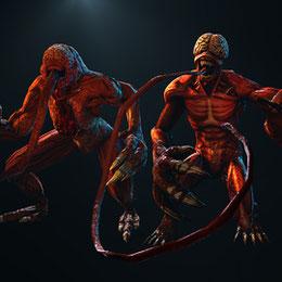 Licker + Licker B (Resident Evil)