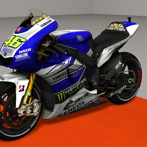 Thumbnail image for Yamaha YZR-M1 (Valentino Rossi)
