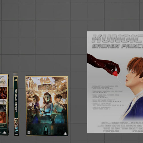 Thumbnail image for Unofficial Studio FOW merch - DVD cases and Poster