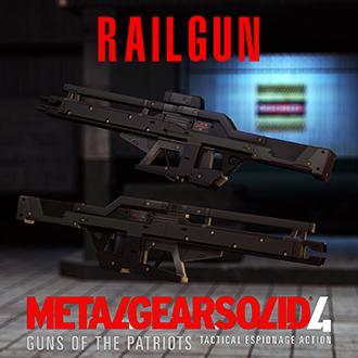Thumbnail image for Railgun - Metal Gear Solid 4