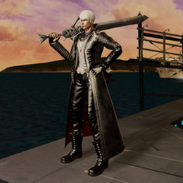 Dante Black Coat (DMC Pinnacle of Combat)