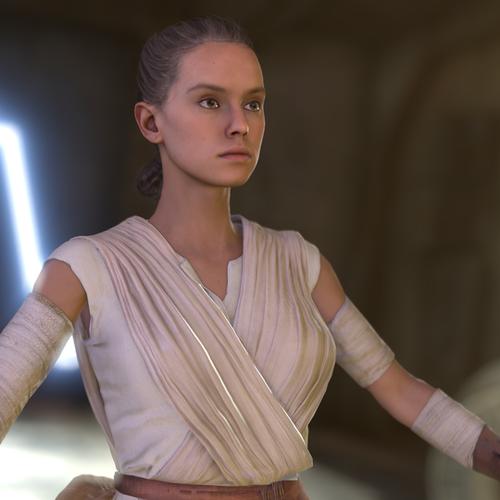 Thumbnail image for Rey - Blender 2.8