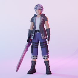 Kingdom Hearts 3 Riku (Updated