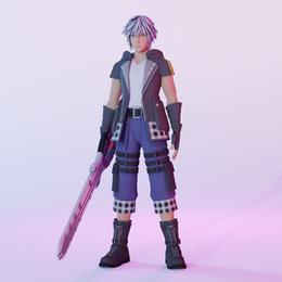 Kingdom Hearts 3 Riku (Updated