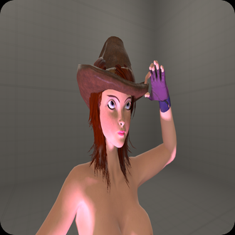 Thumbnail image for NUDE COWGIRL naked
