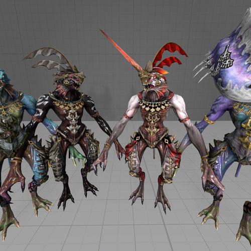 Thumbnail image for Sahagin Beastmen (FFXIV)