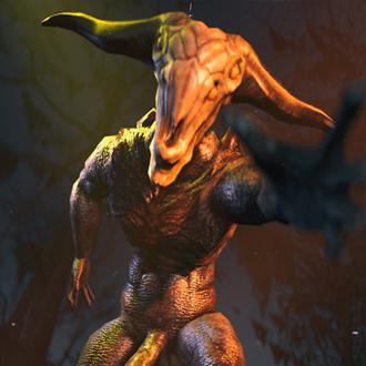 Thumbnail image for Dark Souls : Capra Demon