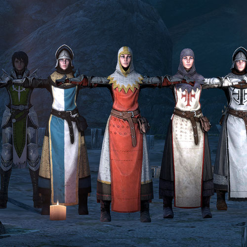 Thumbnail image for Low Poly Fantasy models