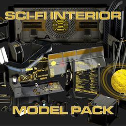 Sci-Fi Props Modelpack