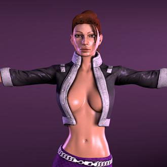 Thumbnail image for Saints Row - Shaundi - Nude by Pewposterous