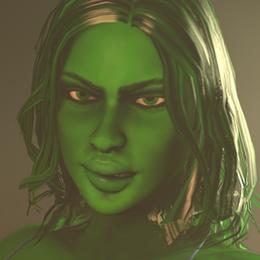 Custom She-Hulk
