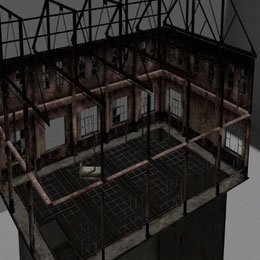 Silent Hill 2 - Ending battle scenery