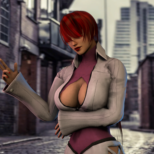 Thumbnail image for Shermie from KOF