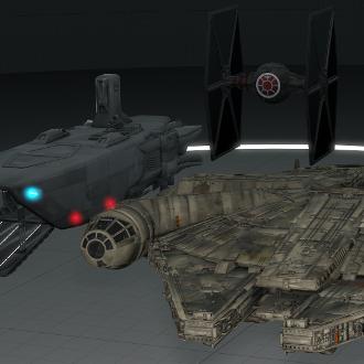 Thumbnail image for Star Wars: Battlefront Ships